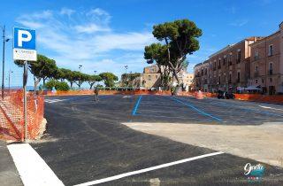 Si apre in anticipo l'area parcheggio di Piazza Risorgimento. La soddisfazione del Sindaco Mitrano