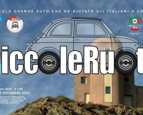 Sul numero 6 (Novembre-Dicembre 2020) di 4PiccoleRuote, il bimestrale delFiat 500 Club Italia, vi portiamo alla scoperta di Gaeta.