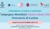 Da Gaeta ad Aprilia: i volontari LILT partecipano all'apertura della Campagna Mondiale Nastro Rosa il 26 settembre alle 9.30