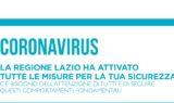 Coronavirus, la Regione Lazio ha attivato tutte le misure per la sicurezza