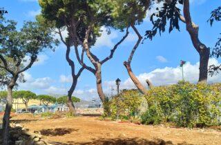 Ripresi i lavori per la realizzazione del parcheggio in Piazza Risorgimento