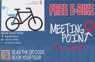 Free E-Bike Gaeta Tour,