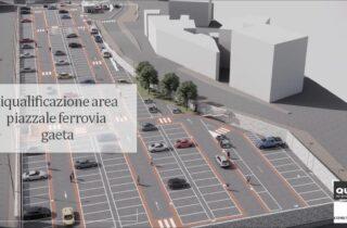 """Presentato il progetto finale di """"Riqualificazione dell'Area Piazzale Ferrovia - Gaeta""""."""
