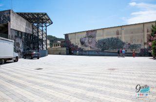 Via Serapide, inaugurato il nuovo parcheggio