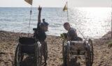 Viaggio Italia, fa tappa a Gaeta il tour in handbike di Luca Paiardi e Danilo Ragona