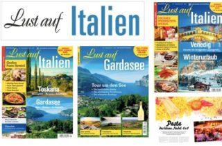 """Gaeta protagonista sulla rivista  """"Lust Auf Italien"""", letterale """"Voglia d'Italia""""!"""